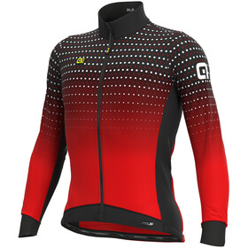 Alé Cycling PR-S Bullet Winter DWR Longsleeve Jersey Heren, black/red